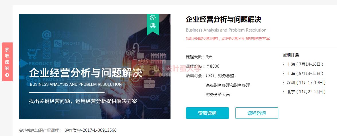 企业经营分析与问题解决·陈冰 - 百度网盘 - 下载 大师课 第1张