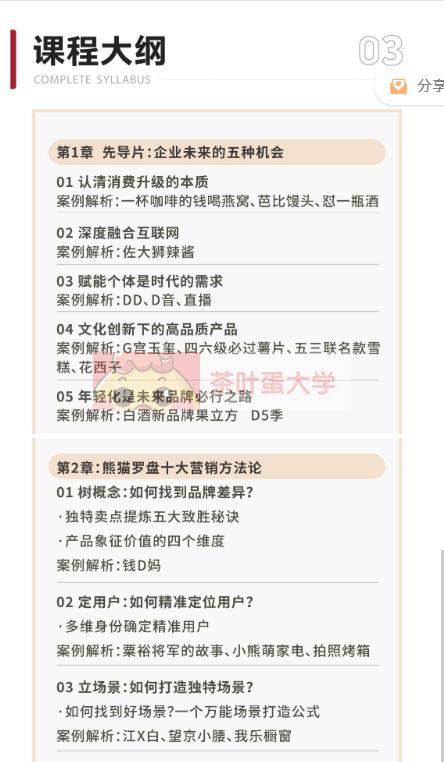 申晨《熊猫罗盘》十大营销方法论 - 百度网盘 - 下载 大师课 第2张