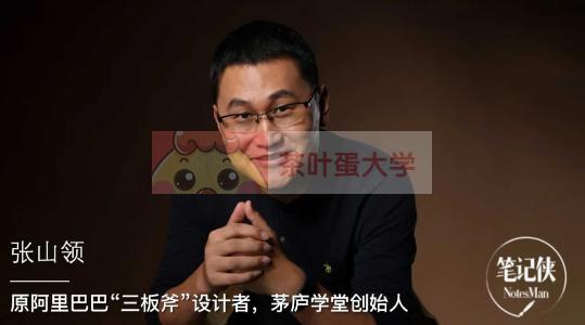 张山领·阿里头部三板斧21讲 - 网盘分享 - 下载 三板斧 第1张