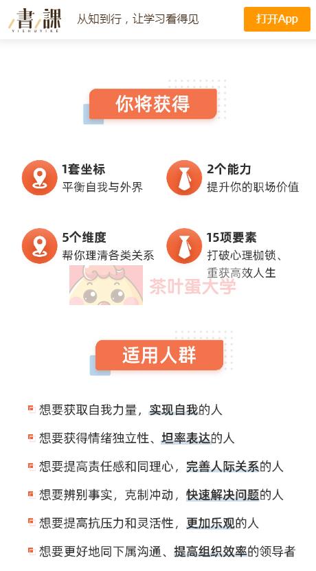 隋荣华·职场精英的情商法则 - 网盘分享 - 下载 樊登读书 第2张